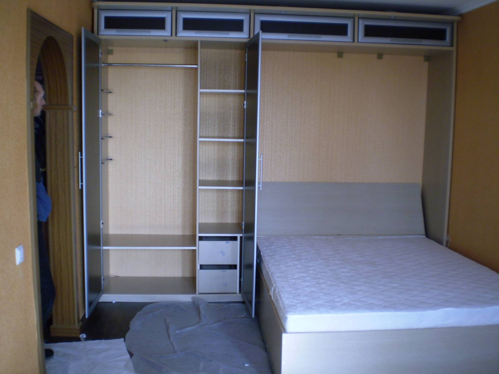 Кровать-шкаф сделать своими руками